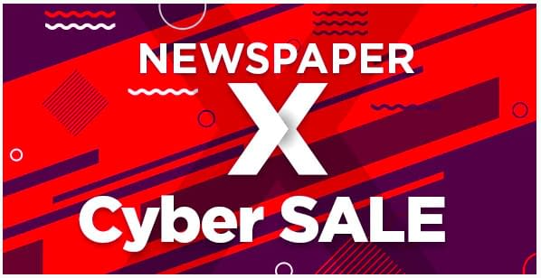 NewsPaper theme black friday and Cyber Monday 2019