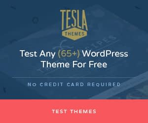 Tesla Themes Black friday 2019