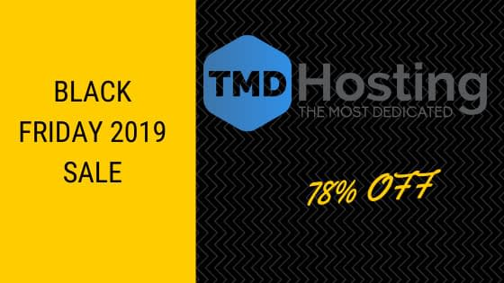 tmd hosting black friday 2019 sale