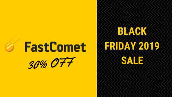 Fastcomet black Friday 2019