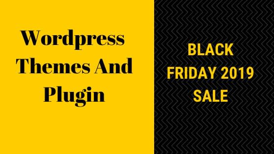 Black friday 2019 Wordpress deals