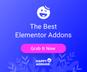 Happy Elementor Addons Coupon: Flat 40% Discount on All Plans