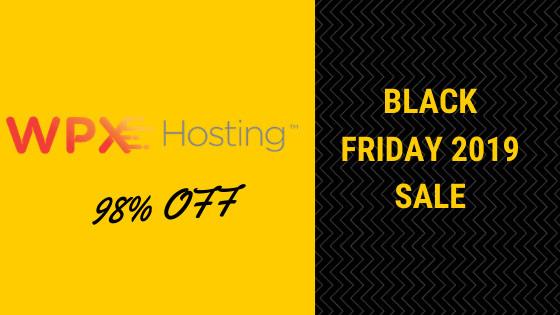wpxhosting black friday 2019 sale