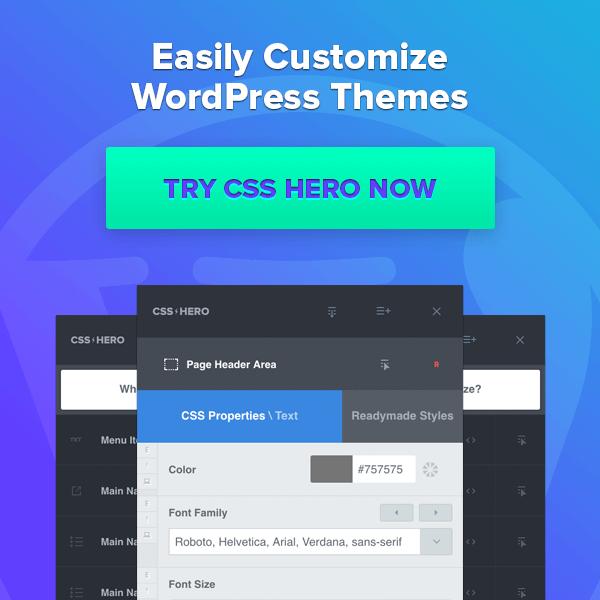CSS HERO Coupon Code 2020