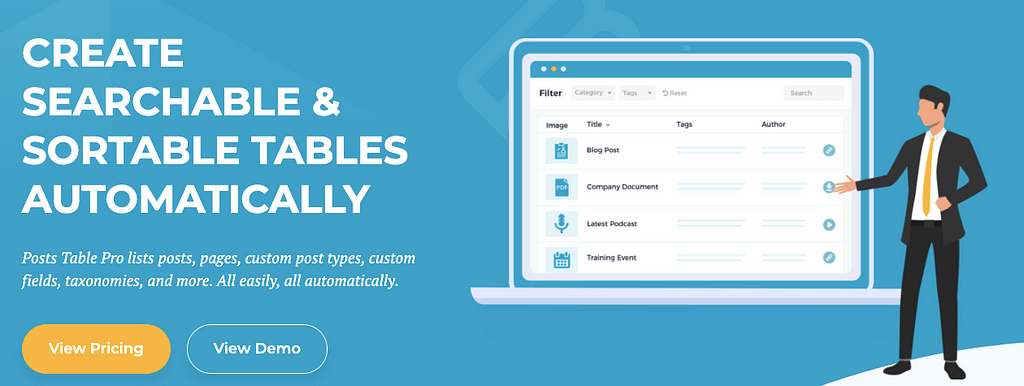 Best Wordpress Table Plugins 10