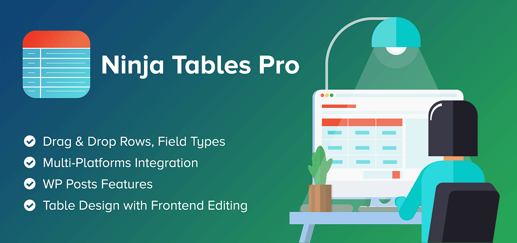 Ninja Tables Pro Coupon 2021: [ up to 40% discount] 1