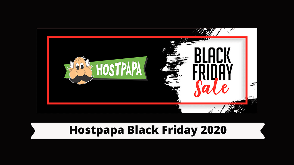 Hostpapa Black Friday 2020