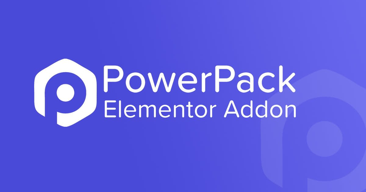 Powerpack Elements for Elementor Coupon code 2020