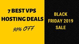 Black friday 2019 VPS hosting deals