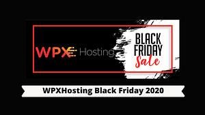 WPXHosting Black Friday 2020