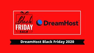 DreamHost Black Friday 2020