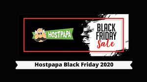 Hostpapa Black Friday 2020
