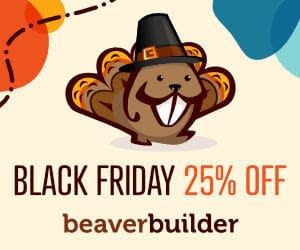 Beaver Builder Black Friday deal 2020