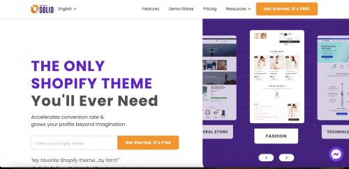 EcomSolid - The Next Generation Shopify Theme