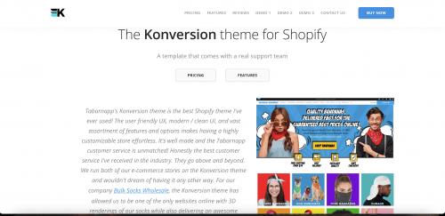 Konversion Theme