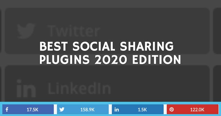 Top 7 Best Social Sharing Plugins For WordPress