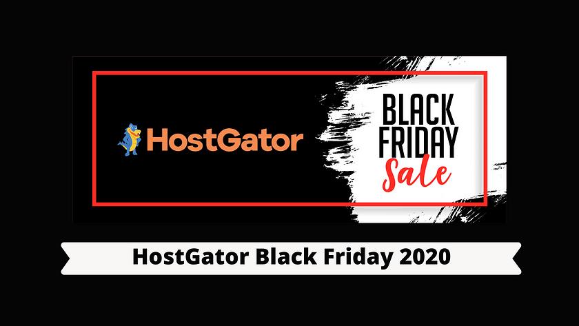HostGator Black Friday 2020