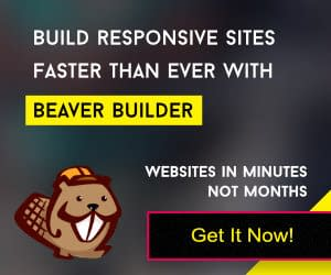 Show Beaver Builder Coupon