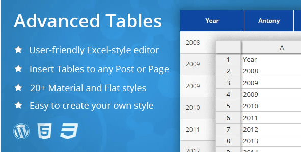 Best Wordpress Table Plugins 6